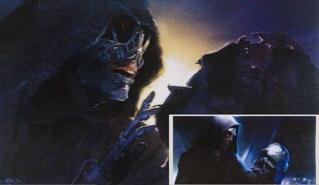 guerres Kylo Ren étoiles la force éveille pilote adam concept de fuite épisode art 8 VII