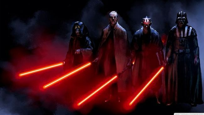 Dark Sidious darth plageuis darth tryanus darth maul darth guerres vader étoile la force réveille chef suprême Snoke