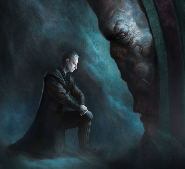 Darth plageuis Dark Sidious star wars la force réveille épisode 7 chef suprême a parlé des recherches andy