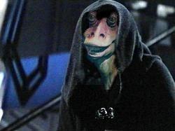 binks jar jar sith star wars la force réveille suprême chef Snoke andy jar serkis binks jar top 5 des théories théorie du ventilateur thesecondtake la deuxième prise