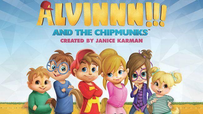 Alvinnn !!! Et les chipmunks est encore à renouveler pour la saison 3