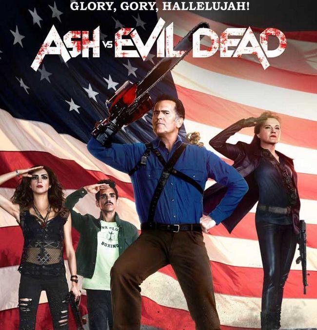 Ash vs evil dead saison 3 version date- septembre 2017
