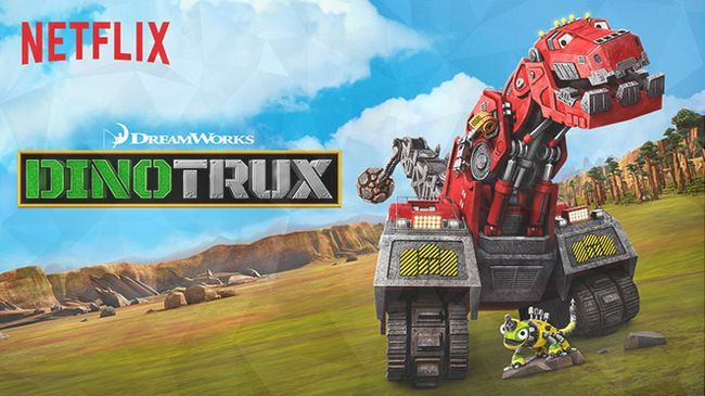 Dinotrux est officiellement renouvelé pour la saison 3