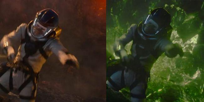 Fantastique différence de couleur Quatre remorque Zone Négative connexion possible à Avengers Guerre civile Captain America Crossover Marvel Cinematic Universe FOX x-men