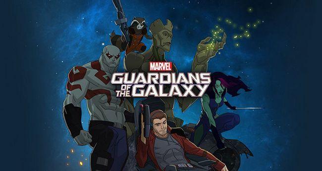 Gardiens de la galaxie est officiellement renouvelé pour la saison 2 à l`air en 2017