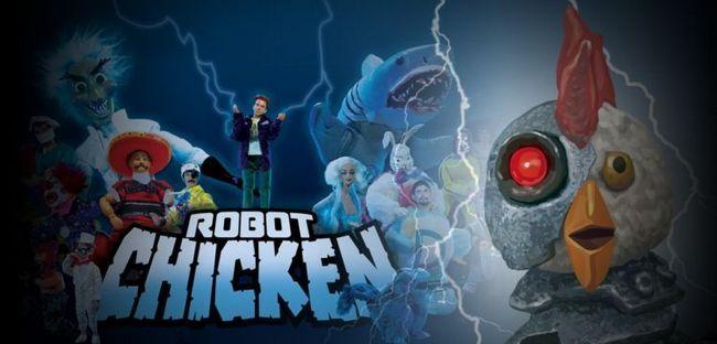 Robot chicken est officiellement renouvelé pour la saison 9