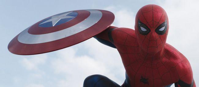 Spider-man introduit captain america: trailer de la guerre civile