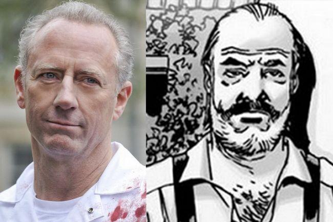 The Walking Dead gregory Nicotero Xander Berkeley